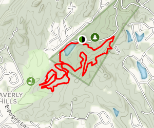 Clinic and Twisty Bends Loops Map