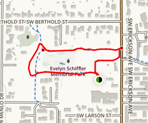 Evelyn Schiffler Park Loop Map