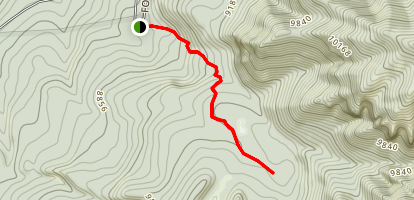 Opal Lake Trail Map