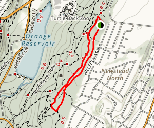 Hillspur Trail to Turtle Back Trail Loop Map