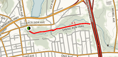 Spring Run Trail Map