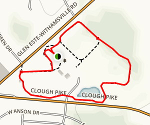 Veteran's Park Loop Map