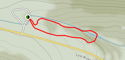 Lost River Gorge Trail Map