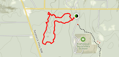Flying EagleTrail to Beaver Loop and Big Cedar Loop Trail Map