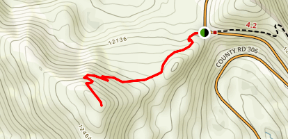 Cottonwood Pass Map