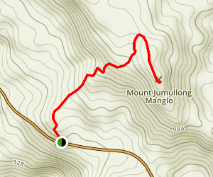 Mount Jumullong Summit Map