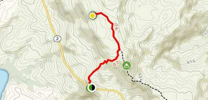 Mount Lam Lam Trail Map