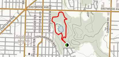 Alder Trail Loop Map
