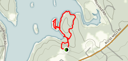 Silver Lake Trails Map