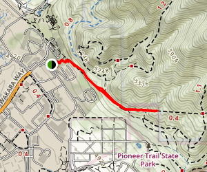 Bonneville Shoreline Trail Map