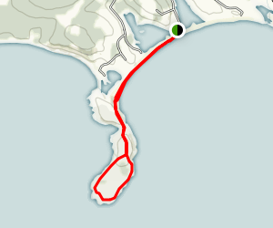 Gaff Point and Hirtle's Beach Map