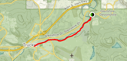 Truckee River Legacy Trail Map