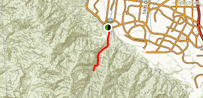 Hagador Canyon Watershed Trail Map