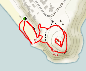 Point Dume Cove Trail Map
