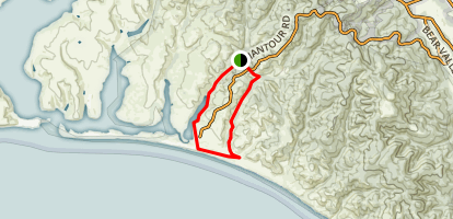 Muddy Hollow - Coastal Trail Map
