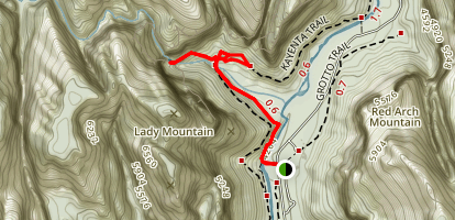 Emerald Pools Trail Map