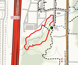 Mayfield Village Wetlands Trail Map