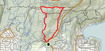 Old Buck and Pangor Loop Trail Map