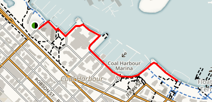 Devonian Harbour Park to Harbour Green Park Map