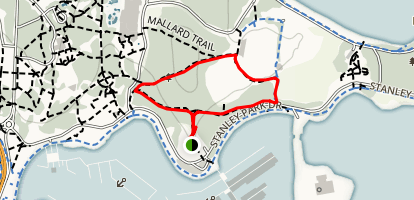 Brockton Point Trail Map
