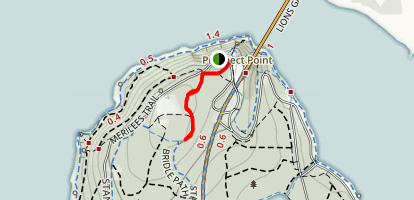 Prospect Point Trail Map