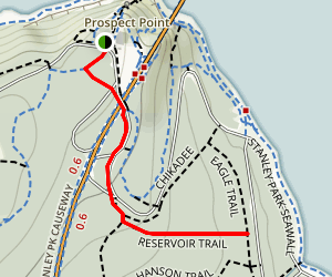 Reservoir Trail Map