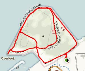 Cleveland Lakefront Nature Preserve Map