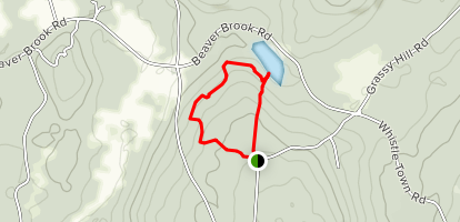 Beebe Trail Map