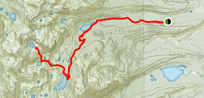 Profile Lake  Map