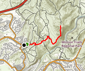 South Fortuna Mountain  Map