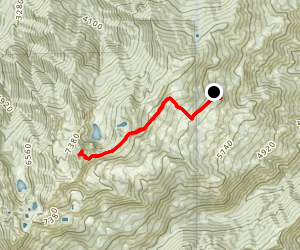 Boulder Peak via Big Meadows  Map
