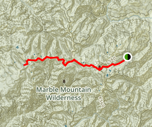 Onemile Lake Trail Map