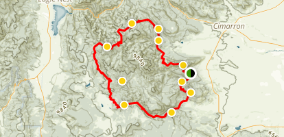 Cimarron Range Loop Map