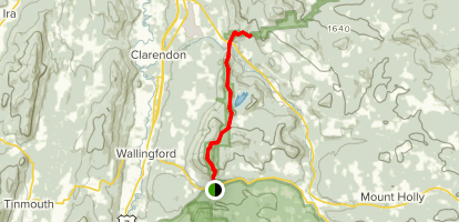 Appalachian Trail: State Route 140 to Clarendon Shelter via Long ...
