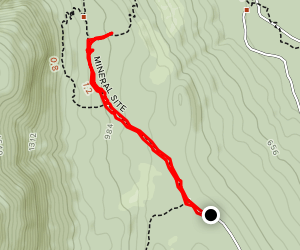 Mineral Site Map
