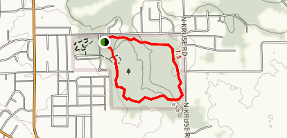 Squirrel Creek Trail Map