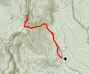 Burnt Rock Mountain Trail Map