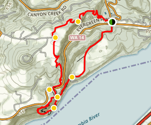 Cape Horn Loop Trail Map