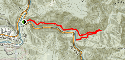 Craigs Creek Trail Map