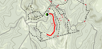 Bronco Buster Map
