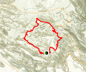 Castel Del Monte and Rocca Calascio Loop Map