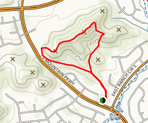 Mountain Park Trail (PRIVATE PROPERTY) Map