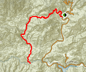 Upper Bear Creek Map