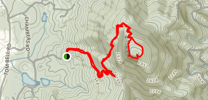 Mount Yonah Trail Map