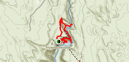 Palouse Falls Trail Map
