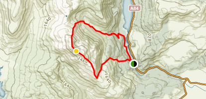 Ben Ledi Loop Map