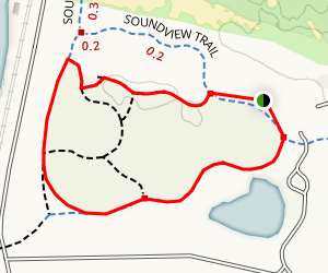 Central Meadow Outer Loop Map