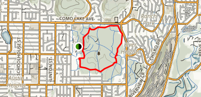Mundy Park Trail Map