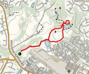 Lois Y. Green Conservation Area Trail Map