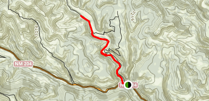 Campos Heck - T- Rex Track Trail Map